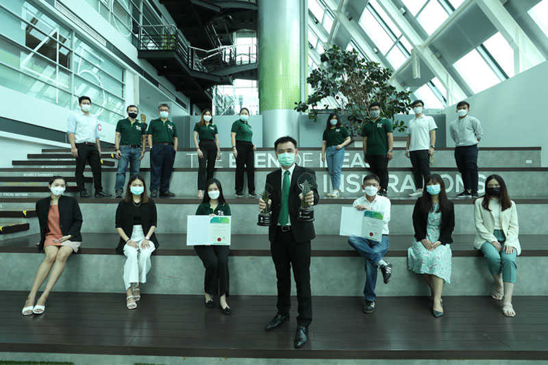 "PTG receives ""Asia Responsible Enterprise Awards 2021"""